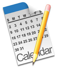Calendar clip art